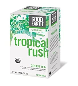 Good Earth Tea - Green Mango Peach Pineapple (6 Pack) by Good Earth