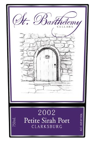 2002 St. Barthelemy Cellars Petite Sirah Port 750 Ml