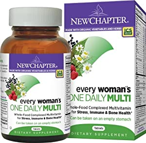 New Chapter Every Woman's One Daily Multivitamins, 216 Count
