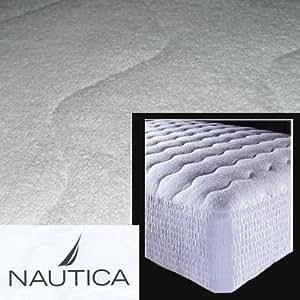 Nautica Cotton Terry Waterproof Spa Mattress Pad