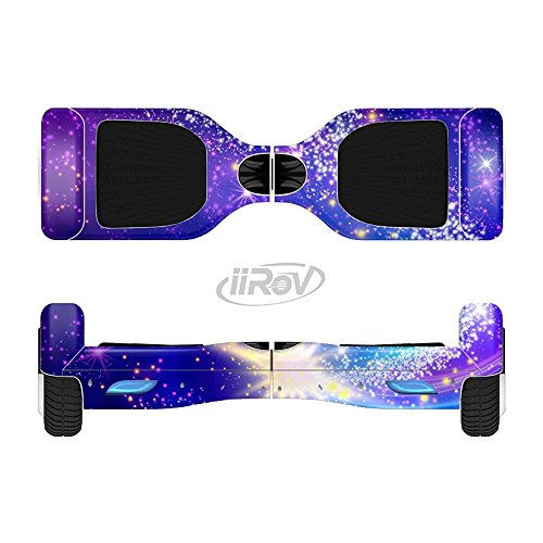 The-Glowing-Pink-Blue-Comet-Full-Body-Wrap-Skin-Kit-for-the-iiRov-HoverBoards-and-other-Scooter-HOVERBOARD-NOT-INCLUDED