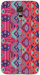 Amazing multicolor printed protective REBEL mobile back cover for Samsung Galaxy S5 / SM-G900I D.No.N-T-4433-S5