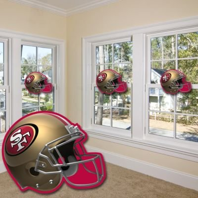 San Francisco 49ers Helmet Cutout