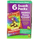 Annie's Homegrown Bunny Graham Friends (Honey, Chocolate & Chocolate Chip), 1oz,- 6-Count Pouches (Pack of 6)