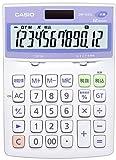 カシオ 抗菌電卓 デスクタイプ 12桁 DW-122CL-N