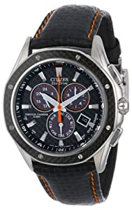 Citizen Men's BL5500-07E Octavia Perpetual Signature Eco-Drive Multi-Function Chronograph Watch