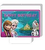 Sofias Closet Disney Happy Birthday Princess Candle Character Cake Decoration Anna Elsa