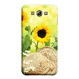 Ebby Premium Printed Mobile Back Case Cover With Full protection For Samsung E7 (Designer Case)