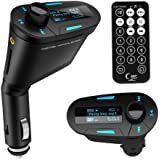 JSG Accessories Car MP3 Player FM Transmitter with USB/SD Card Reader and Remote Control