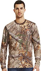 Under Armour Mens Charged Cotton® Camo Long Sleeve T-Shirt by Under Armour