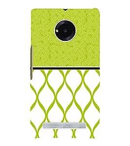 Greenish Self Design 3D Hard Polycarbonate Designer Back Case Cover for YU Yureka Plus