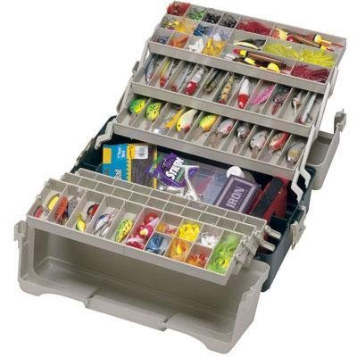Plano Molding Large Six Tray Tackle Box front-930476