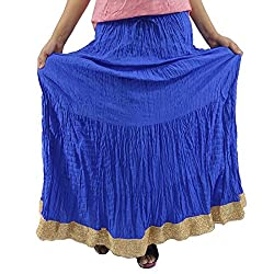 ShopMore Blue Full Skirt(Blue_Free-Size)