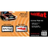HushMat 10600 Ultra License Plate Kit with Damping Pad