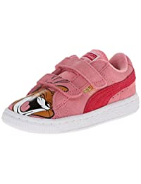 PUMA Suede T and J Jerry V Kids Sneaker (Infant/Toddler/Little Kid)