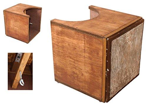 gome-box-drum-basstrommel-fusstrommel-holzbox-45x45x48cm-kuhfell-spannbar-cajon
