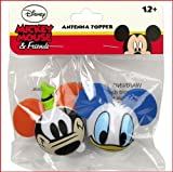 Goofy Face & Donald Face Antenna Toppers
