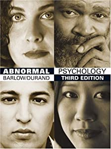 Abnormal Psychology: An Integrative Approach (with InfoTrac and CD-ROM)