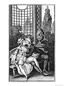 Illustration from Works by the Marquis De Sade Giclee print art (12 x 16 in)