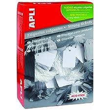 Agipa Bijouterie Boîte de 500 étiquettes Format 28 x 4 mm