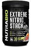 NutraBio Extreme Nitric Stack (Blood Orange) - 525.6 Grams