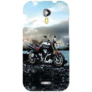 Micromax A117 Canvas Magnus Back Cover - Ride My Bike Designer Cases