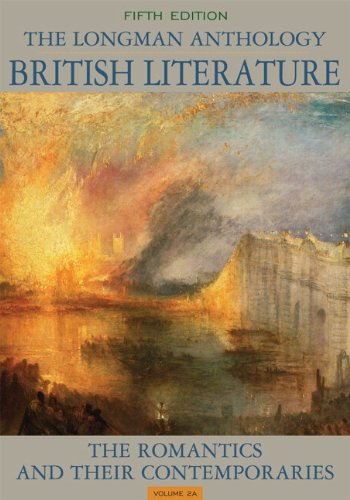 Anthology of British Literature 3rd Volume,  5th Edition