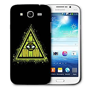 Snoogg Triangle Eye Designer Protective Back Case Cover For Samsung Galaxy Mega 5.8