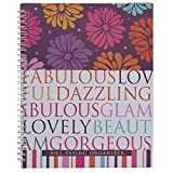 Monthly Bill Paying Organizer Hard Cover Budget Book with Pockets - Fabulous