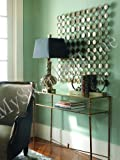 Spectacular XL Mirrored Wall Art Contemporary Square
