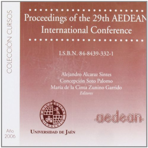 Proceedings Of The 29th Aedean International Conference