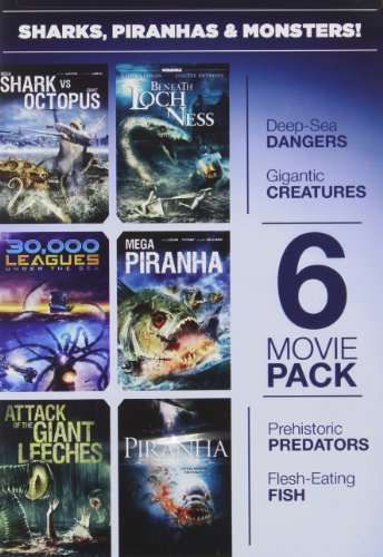 Sharks, Piranhas & Monsters (Monster Shark Dvd compare prices)