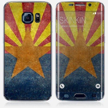 Samsung Galaxy S6 Edge Skin, Sticker, Adesivo protettivo - Original Design : Arizona state da Bruce Stanfield