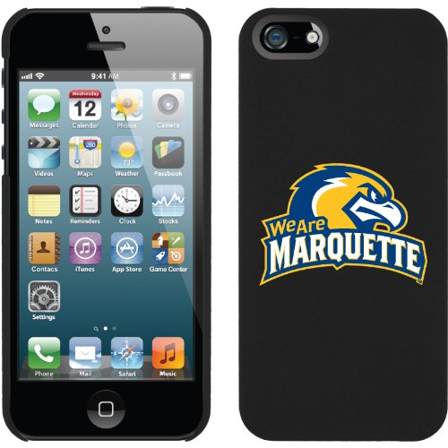 Great Sale Marquette - We Are design on a Black iPhone 5s / 5 Thinshield Snap-On Case by Coveroo