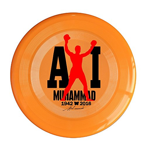 YQUE56 Unisex Boxer Poster Outdoor Game Frisbee Sport Orange
