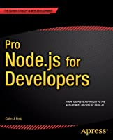Pro Node.js for Developers Front Cover
