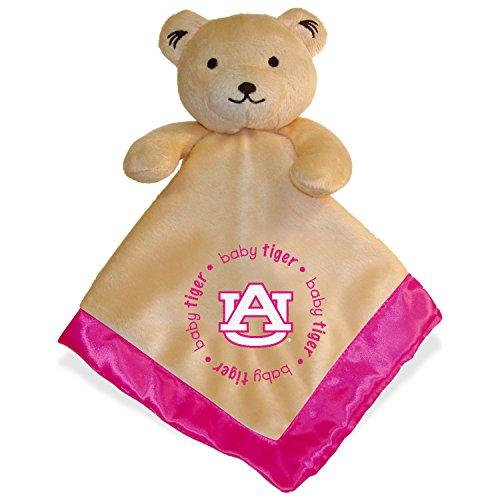 Auburn Tigers Infant Bear Security Blanket Pink