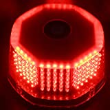 iTimo 240 Bulbs High Brightness LED Strobe Lights Hazard Emergency Lamp Truck Vehicle Car Roof Top Flash (Red)