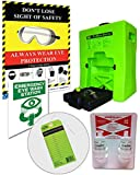 Emergency Eyewash Station Portable OSHA -Bundle