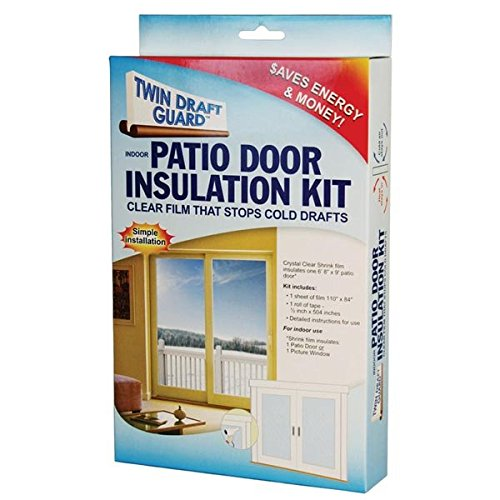 Twin Draft Guard Patio Door Insulation Kit (Window Winter Insulation Kit compare prices)