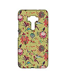 Payal Singhal Chidiya Olive - Sublime Case for Asus Zenfone 3