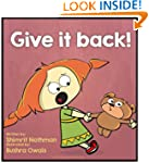 Children's book: Give it back!: Confl...