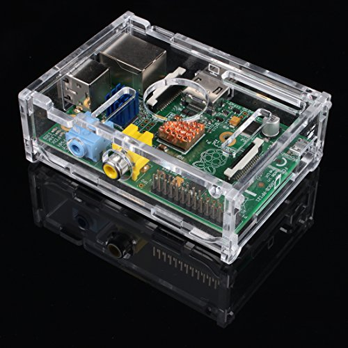 Jbtek Raspberry Pi Case Clear Acrylic For Model B
