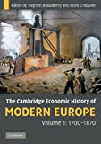 img - for The Cambridge Economic History of Modern Europe (2 Volume Set) book / textbook / text book