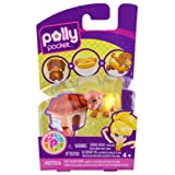 Polly Pocket Collectable Cutant Pet - Dog Hotdog - Suitable For Ages 4+ - NEW