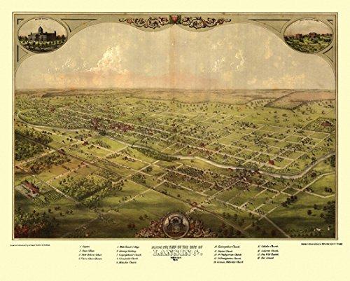 antique-map-of-lansing-michigan-1866-ingham-county-kunstdruck-4572-x-6096-cm