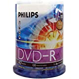 Philips 100 x DVD-R Storage 4.7 GB 16x DM4S6B00F/17