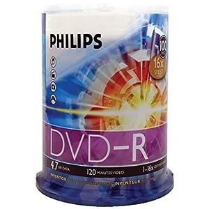 100 x DVD-R Storage 4.7 GB 16x