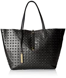 Vince Camuto Leila-LTO Travel Tote, Caviar, One Size
