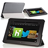 MoKo Ultra Slim Lightweight Smart-shell Stand Case For Amazon Kindle Fire HD 8.9-Inch Tablet GRAY (with Smart...